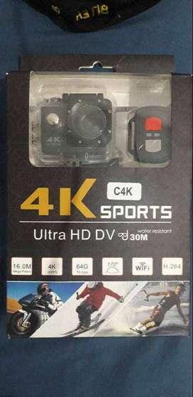 Vendo Camara 4K Sports (WIFI) Tipo Gopro + Monopod Selfie Universal 3 en 1 [MONTAJE PARA CAMARA]