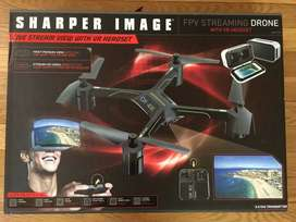 DRONE SHARPER IMAGE FPV STREAMING INCLUYE GAFAS VR HEADSET Autopilot DX-4