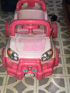 Carro de bateria niña
