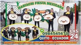Cumpleaños aniversarios con mariachis en Quito norte cotocollao ofelia