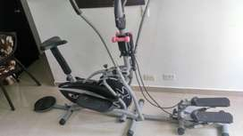 Bicicleta multinacional estática