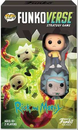 Funkoverse ricky and Morty