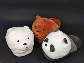 Babuchas Escandalosos Bears Osos Pantufla Junior y Adulto