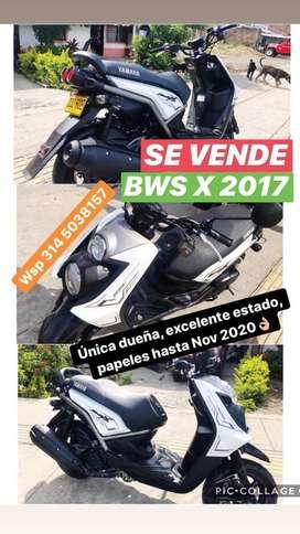 Moto Bws X 2017