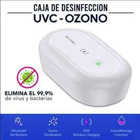 Caja DESINFECCION UVC + Ozono