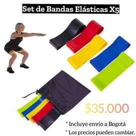 Set de Bandas Elásticas X5