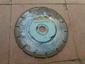 Disco Diamantado 7 pulgadas, Usado