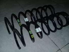 Espirales originales traseros  de volkwagen polo modelo 97 impecable