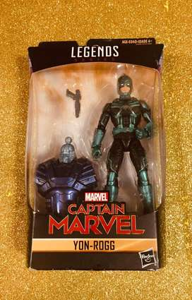 Legends Series Marvel Yon Rogg CAPITANA MARVEL LEGENDS SERIES