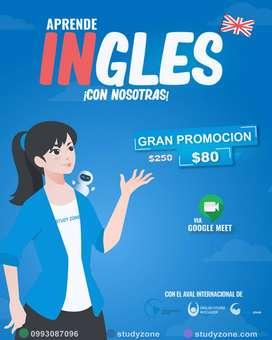CURSO DE INGLES  ¡APRENDE INGLES CON NOSOTRAS!