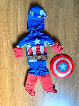 Disfraz capitan america talla 4