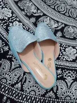 Zapatos para mujer celeste