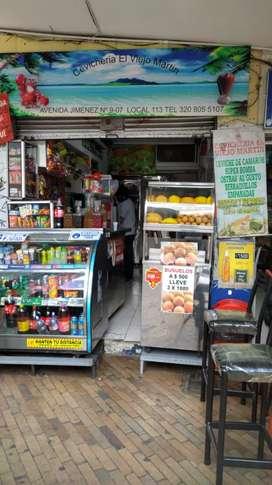Se vende negocio comercial ubicado en la Av Jiménez # 9-07