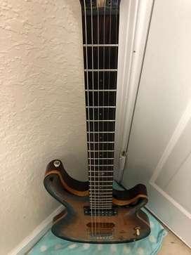 Dean Hardtail Guitarra eléctrica caoba arce