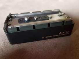 Adaptador de batería AD12  radio teléfono Icom