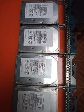 Discos duros para servidor sata 300gb en buen estado 100 mil por unidad  estoy ubicado en la estancia c