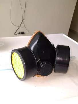 Tapabocas con 2 filtros