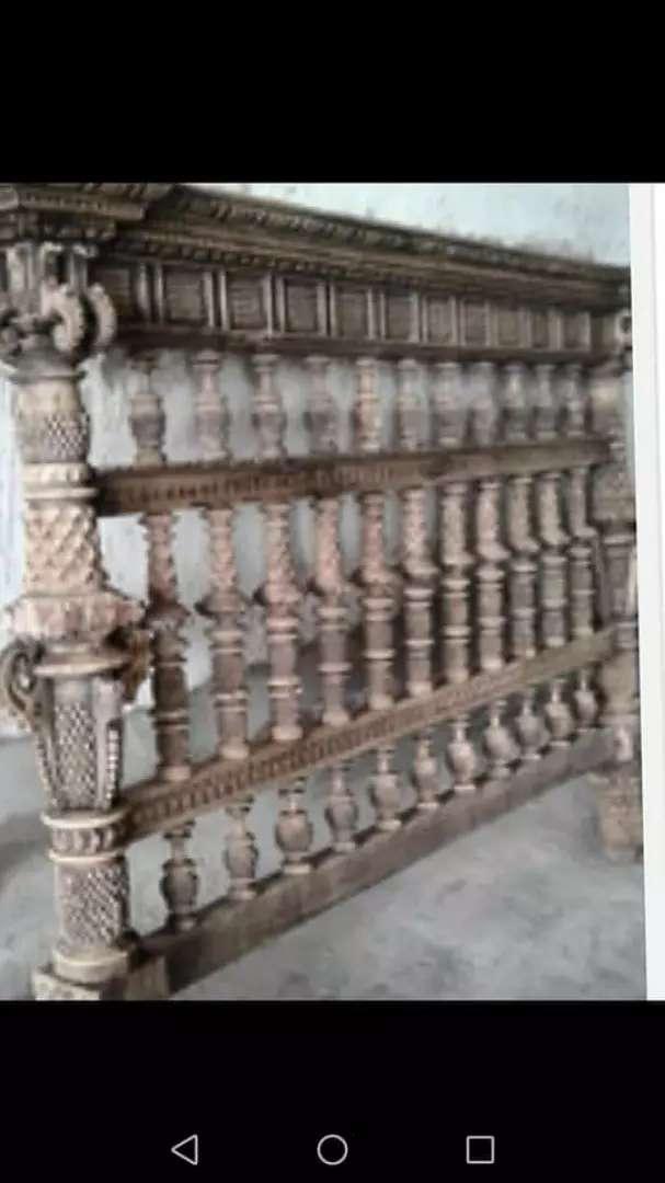 Cabecera antigua tallada colonial 0