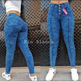 Jeans dama rio blancx.