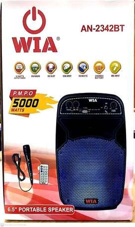 CABINA WIA 6.5  MICROFONO + CONTROL REMOTO