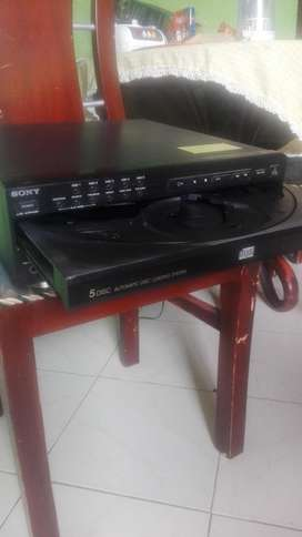 unidad de 5 Cds Sony Original