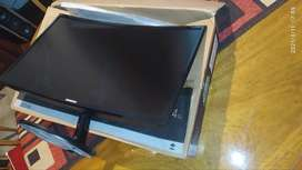 Monitor Curvo Samsung Led 24 Negro C24f390fh