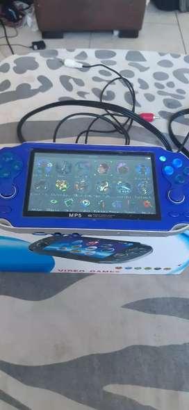 Vendo PSP MP5 portatil con juegos viene para grabar juegos tal cual