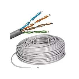 Cable Utp los metros que quiera ponchado.