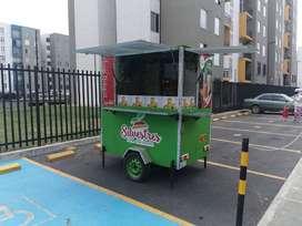 Food  Truck - trailer de bebidas estilos Cosechas