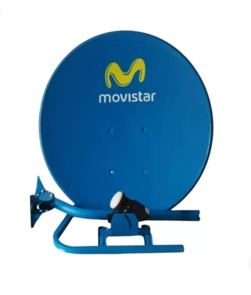 Antenas para señal satelital