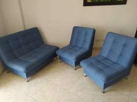 Juego de sofas 3 cuerpos