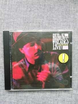 Cd Ruben Blades Live