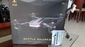 DRONE VISUO BATTLE SHARKS VERSION MEJORADA DEL XS809HW BATERIA 18 MINUTOS!! CAM FPV 2MPX PARA ANDROID O IPHONE NUEVOS