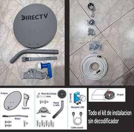 Lote de 10 Kit instalación Directv (sin decodificador)