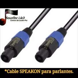 Se prepara todo tipo de cable de audio...