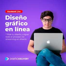 Diseño gráfico vía streaming