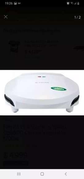 Parrilla Grill Electrica Yelmo Gp5500 Carnes Vegetales 1200w -sin uso-