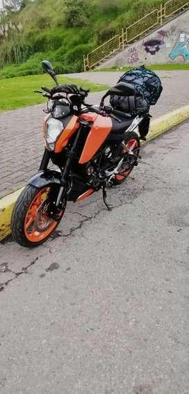 Vendo KTM 200 DUQUE  2020