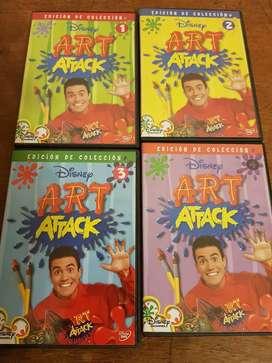 DVD Edición Colección Disney Art Attack.