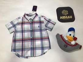 Camisa original Polo Ralph Lauren talla 2 años