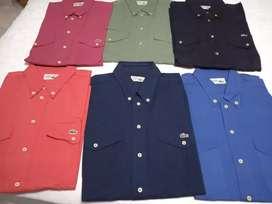 Camisas mangas largas