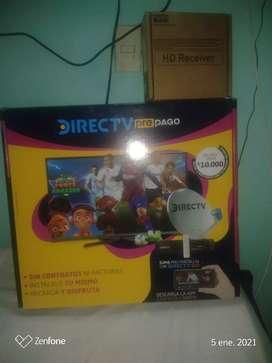 Vendo kit prepago. Direct tv