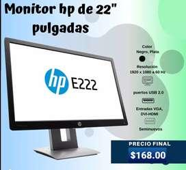 Monitor HP EliteDisplay E222 de 21,5 pulgadas