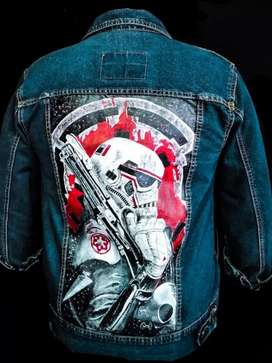 Chaquetas y Jeans  personalizados a mano