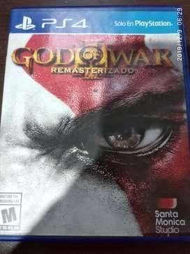 GOD OF WAR (REMASTERIZADO) PS4