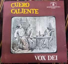 VINILO Vox Dei - Cuero Caliente Vinilo Disco