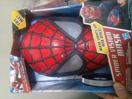Mascara spiderman electronica