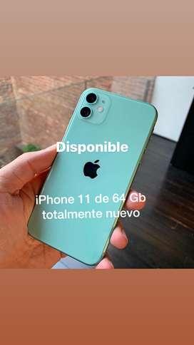 iPhone 11 de 64 Gb color turquesa