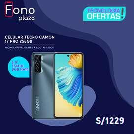 Celular Tecno Camon 17 Pro 8GB 256GB