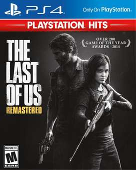 The Last Of Us Remastered Playstation 4 Ps4, Físico,